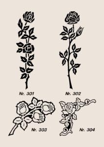 Ornamenter blomster