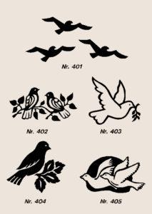 Ornamenter fugler